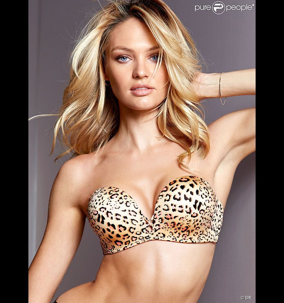 Candice Swanepoel pose en sous-vêtements pour Victoria's Secret - avril 2014
