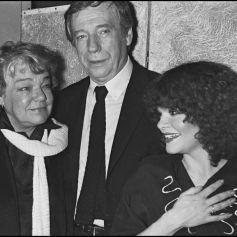 Archives , Catherine Allégret, Yves Montand et Simone Signoret le soir de la première de
