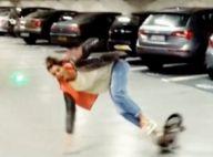 Laury Thilleman : La jolie Miss joue les pros du skate et mange le bitume !