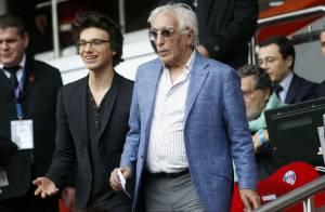 PSG - Evian : Gérard Darmon et son fils Jules réunis face à Tatiana Golovin