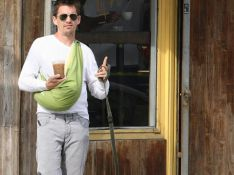 PHOTOS : Ethan Hawke, sa fille, son chien, un café : le bonheur !!