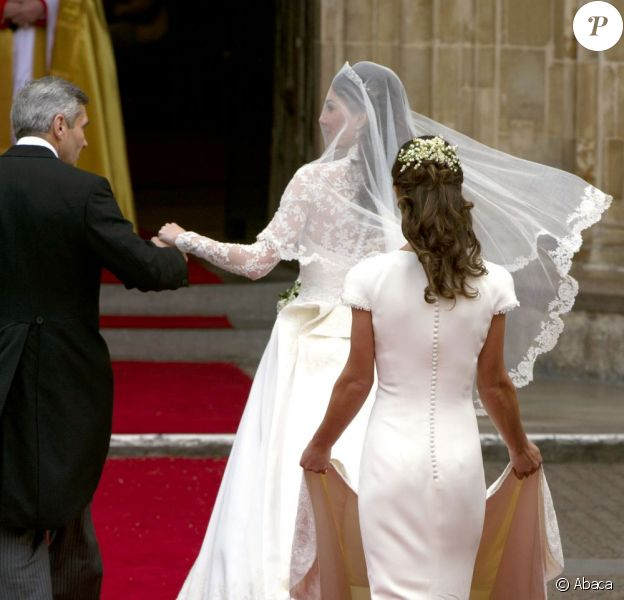 Le monde a découvert la ravissante Pippa lors du mariage de sa soeur Kate et de William. Londres, 29 avril 2011