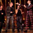 Jenifer : surprenante et irrésistible en pantalon en satin dans The Voice 3 le samedi 22 mars 2014 sur TF1