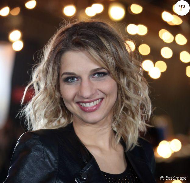 Exclusif - Amandine Bourgeois à Paris, le 4 décembre 2013.