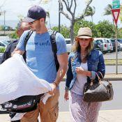 Jennifer Love Hewitt, relax avec son mari Brian : Maman poule avec Autumn