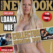 Quand Loana posait nue pour Newlook...