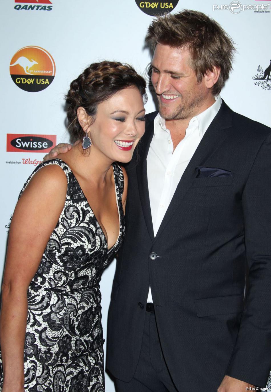 Lindsay Price et son mari Curtis Stone lors du Gala G'Day USA Los Angeles Black Tie 2013, le 12 janvier 2013.