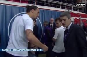 Zlatan Ibrahimovic énervé: Son fils bousculé par un journaliste, il voit rouge