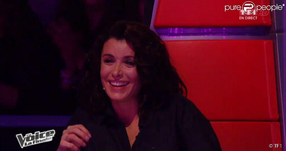 Jenifer, dans The Voice 3, la finale (émission diffusée le samedi 10 mai 2014 sur TF1.)