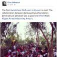 Elisa Sednaoui a publié des photos d'un atelier de sa fondation à Louxor, au cours de son séjour en Egypte en avril 2014.