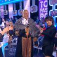 """Gérard Louvin et Christophe Carrière dans l'émission """"Touche pas à mon poste"""" (D8), du 12 mai 2014"""