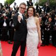 """Les jurés Nicolas Winding Refn et Carole Bouquet - Montée des marches du film """"Grace de Monaco"""" pour l'ouverture du 67 ème Festival du film de Cannes le 14 mai 2014"""