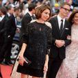 """La jurée Sofia Coppola - Montée des marches du film """"Grace de Monaco"""" pour l'ouverture du 67 ème Festival du film de Cannes le 14 mai 2014"""