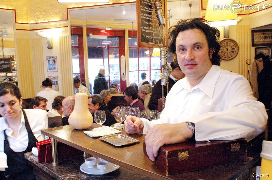 Yves camdeborde dans son restaurant 39 le comptoir du relais 39 paris le 30 d cembre 20 - Le comptoir du petit marguery paris 13 ...