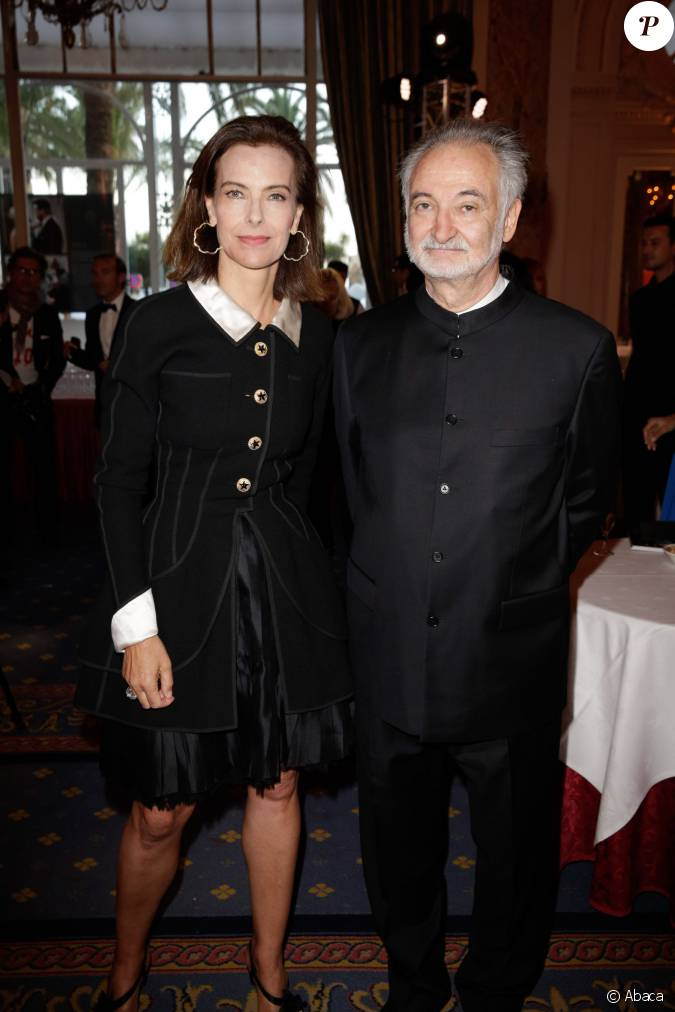 carole bouquet et jacques attali lors de la 4 me dition du gala planet finance au carlton lors. Black Bedroom Furniture Sets. Home Design Ideas