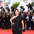 Rossi de Palma   lors de la montée des marches du film Saint Laurent et l'hommage au cinéma d'animation au Festival de Cannes le 17 mai 2014