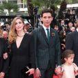 La montée des marches du film Saint Laurent et l'hommage au cinéma d'animation au Festival de Cannes le 17 mai 2014
