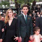 Cannes 2014 : Julie Gayet radieuse au côté de Valentina, la fille de Salma Hayek