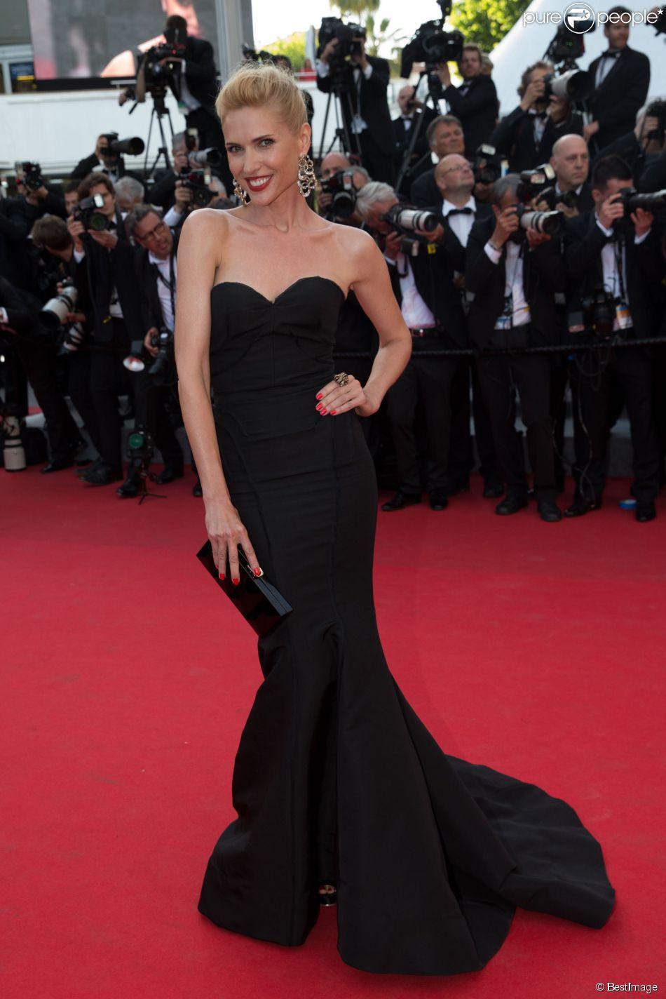 Judit Masco Sur Le Tapis Rouge Du Festival De Cannes Le 18 Mai 2014