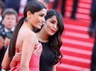 Leïla Bekhti, L'Oréal Girl glamour : Sirène fatale face à Freida Pinto