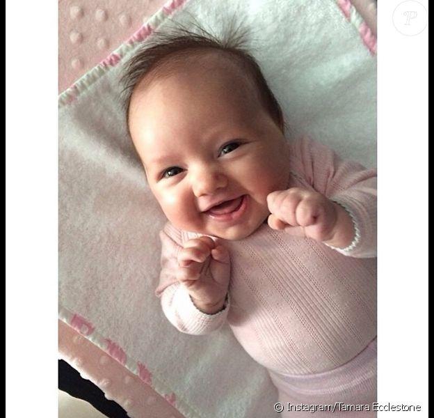 Sophia, la petite fille de Tamara Ecclestone - photo publiée sur son compte Instagram le 19 mai 2014