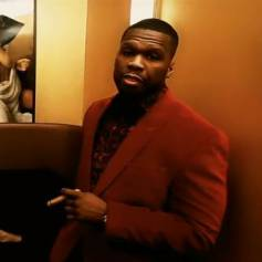 50 Cent dans le clip de Twisted (feat. Mr. Probz). Mai 2014.