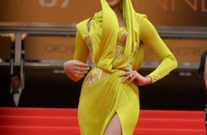 Cannes 2014: Irina Shayk, sulfureuse avec Rosie Huntington-Whiteley, étincelante