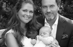 Madeleine de Suède et Chris O'Neill: Douce photo avec Leonore, avant son baptême