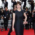 """Marianne Denicourt - Montée des marches du film """"Jimmy's Hall"""" lors du 67e Festival du film de Cannes le 22 mai 2014"""