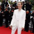 """Isild Le Besco - Montée des marches du film """"Jimmy's Hall"""" lors du 67e Festival du film de Cannes le 22 mai 2014"""