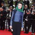 """Leila Hatami - Montée des marches du film """"Jimmy's Hall"""" lors du 67e Festival du film de Cannes le 22 mai 2014"""