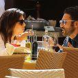 Exclusif - Eva Longoria et son petit ami Jose Antonio Baston sont allés diner à Malibu, le 23 mai 2014.