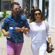 Eva Longoria et son petit ami Jose Antonio Baston font du shopping à Malibu, le 23 mai 2014.