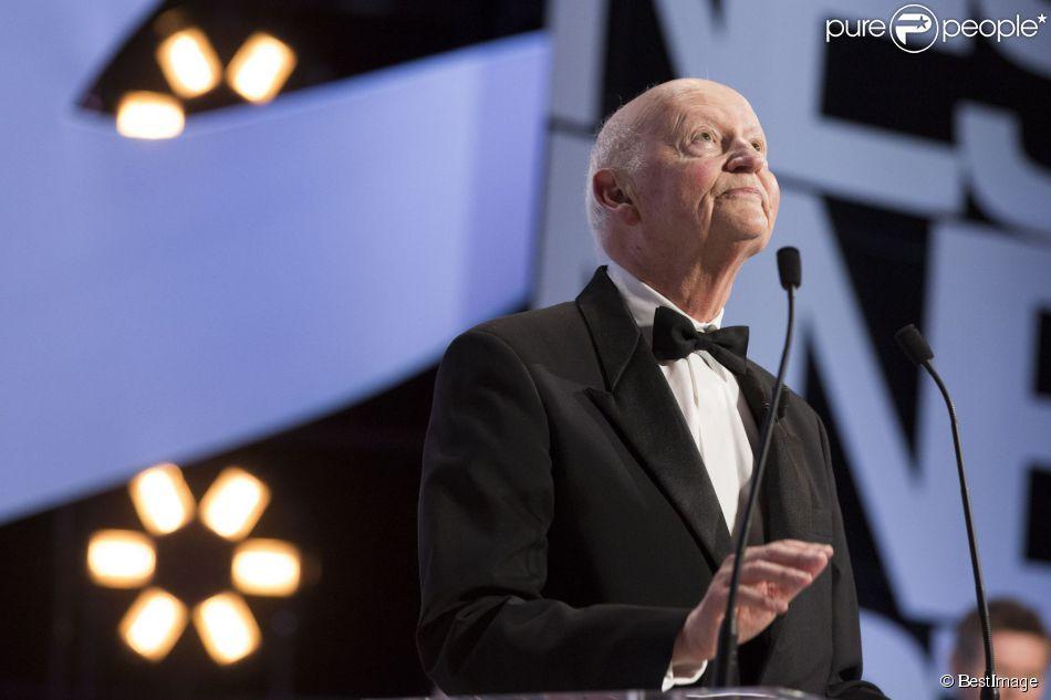 Gilles Jacob - Cérémonie de clôture du 67e Festival du film de Cannes le 24 mai 2014.