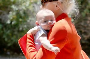Gwen Stefani : Week-end au soleil avec son bébé Apollo