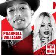 Pharrell Williams, Rita Ora, Black M (du groupe Sexion d'Assaut), la Team BS (le supergroupe de La Fouine), Kyo et bien d'autres, en concert au Trianon à Paris ce mardi 27 mai, pour le NRJ Music Tour.