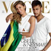 Gisele Bündchen : Supportrice de Neymar et du Brésil pour le Mondial 2014