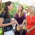 Kate Middleton face à Reese Witherspoon à Santa Barbara en juillet 2011