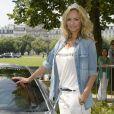 Adriana Karembeu - 15 ème Rallye des Princesses à Paris - Journée des vérifications des voitures, Esplanade des Invalides. Paris le 31 mai 2014