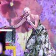 Miley Cyrus lors de la cérémonie des World Music Awards au sporting de Monaco, le 27 mai 2014.
