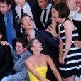 Ansel Elgort, Shailene Woodley lors de la première de Nos étoiles contraires (The Fault in Our Stars) au Ziegfeld Theater, New York, le 2 juin 2014.