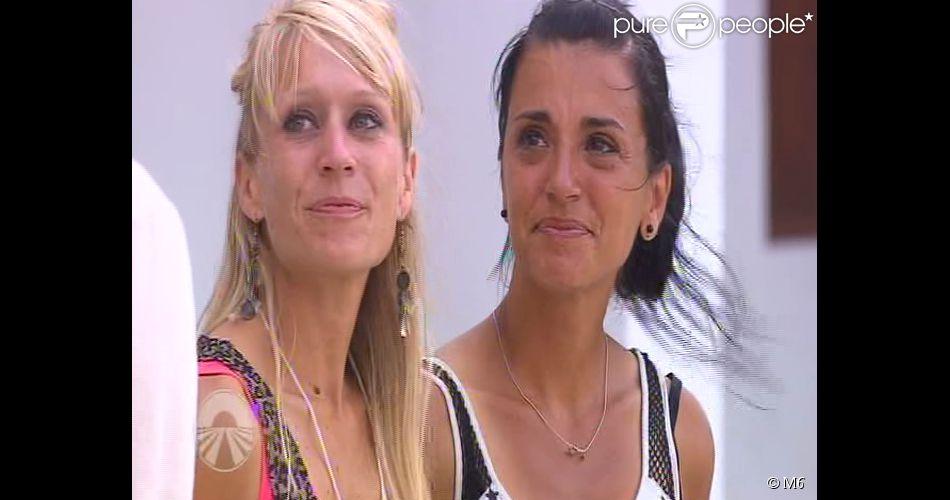 """Aurélie et Christila sont éliminées - Huitième étape de """"Pékin Express 2014"""", diffusée le 4 juin 2014 sur M6."""