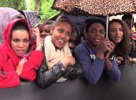 Rihanna enivre ses fans à Paris, sur les Champs-Elysées