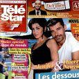Photo montage de Jenifer et Thierry Neuvic en couverture de Télé Star