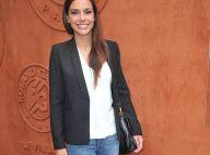 Marine Lorphelin à Roland-Garros : Robe sexy ou jean slim, des looks au top !