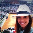 Marine Lorphelin à Roland Garros le 31 mai 2014.