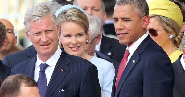 Résultat d'images pour Obama roi Philippe