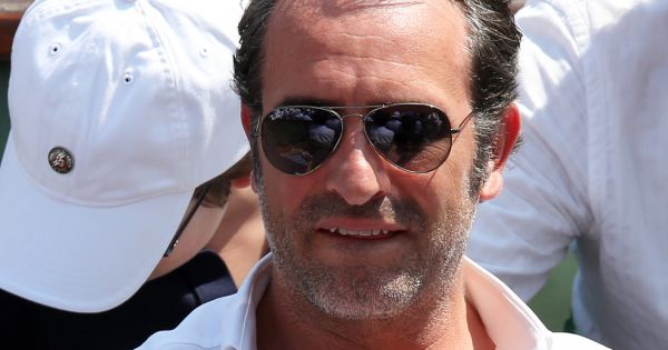Jean dujardin la finale homme des internationaux de for Dujardin patrick