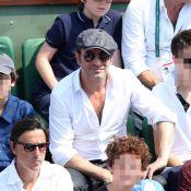 Jean Dujardin : Papa poule avec ses fils à Roland-Garros !