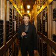 Le producteur américain Jerry Bruckheimer a profité de son séjour en Principauté de Monaco lors du 54e Festival de Télévision de Monte-Carlo pour découvrir les caves de l'Hôtel de Paris à Monte-Carlo, le 9 juin 2014.